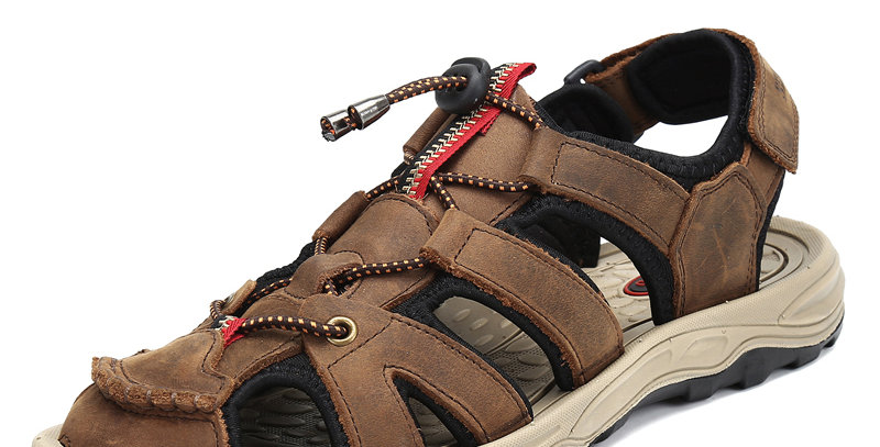 Sandals Men Slippers Men Anti Skid Hiking Sandals Breathable Soft