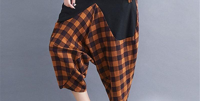 Women Harem Pants Cotton Linen
