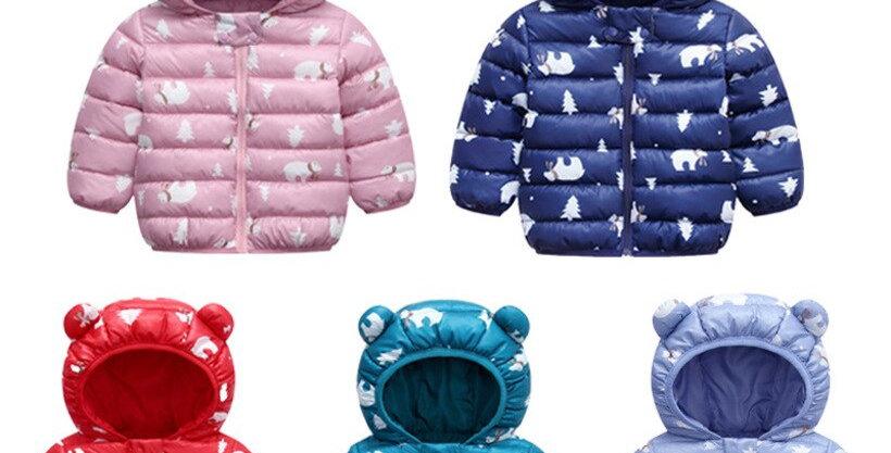 Hooded Coat Newborn 6-24M