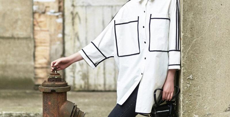 Women's Shirts Korean Vintage