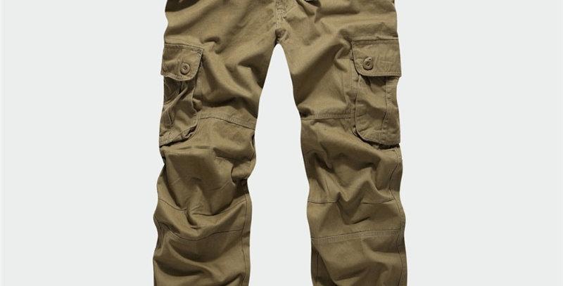 BOLUBAO Men Cargo Pants Military Camouflage Trousers Mens Elastic Pant