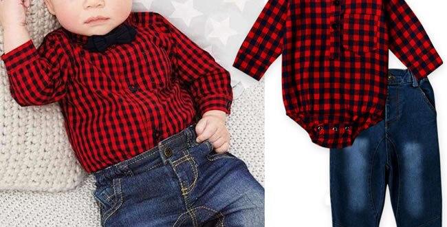 Denim Set Clothes Top+Jean Trouser 2PC 0-24M