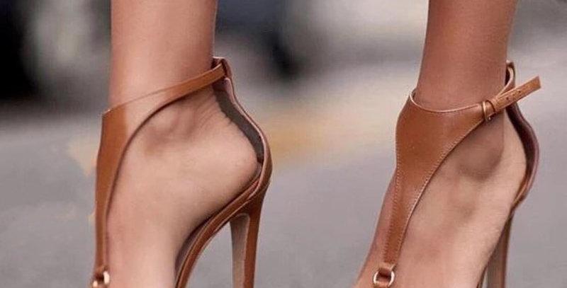 Gladiator Sandals - Thin Heel