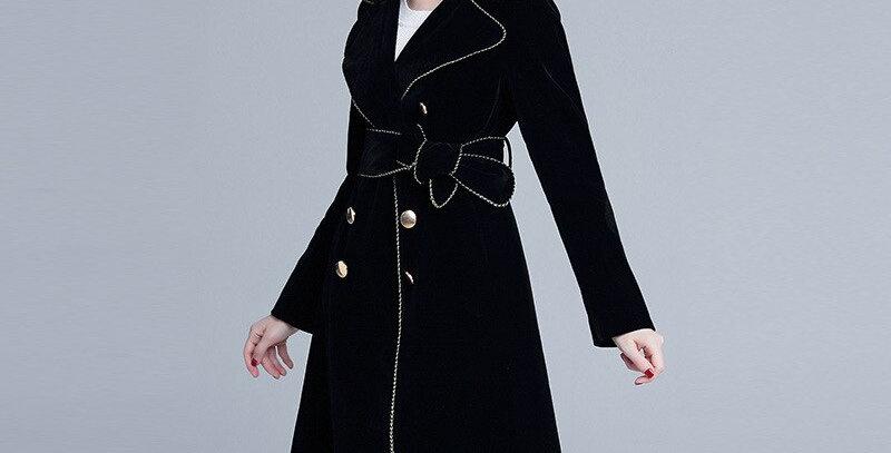 Women Velvet Coat
