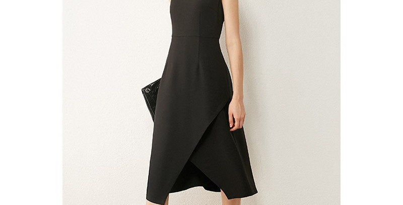 Minimalist Autumn Women's Dress