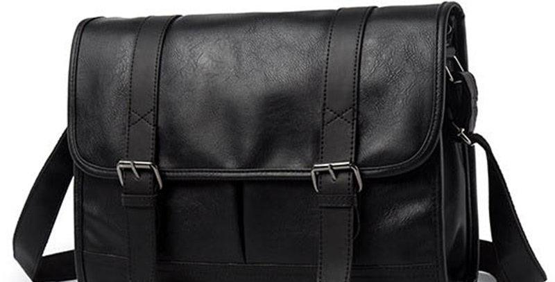 Fashion Man Leather Shoulder Bags Travel Bag Men Briefcase