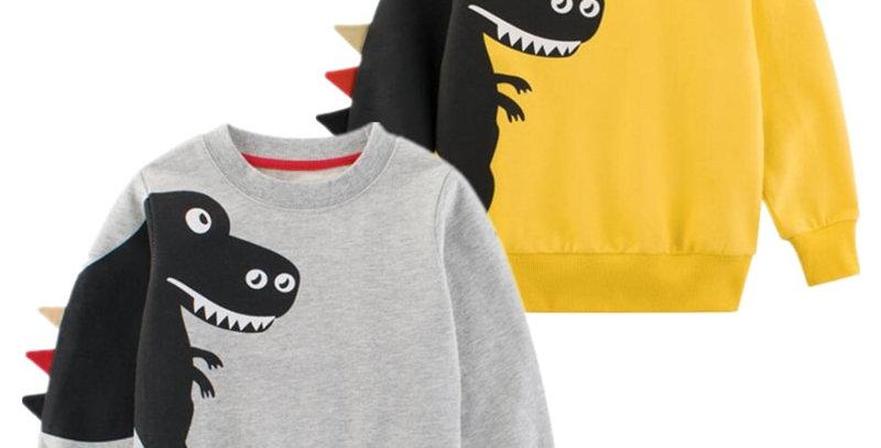 Dinosaur Sweatshirt 2-7T