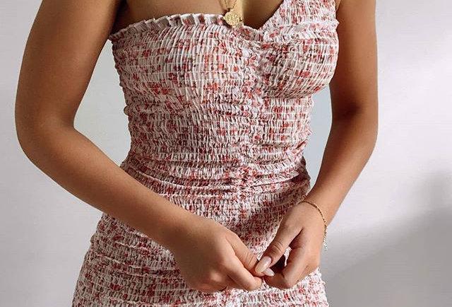 Women One Shoulder Mini Dress
