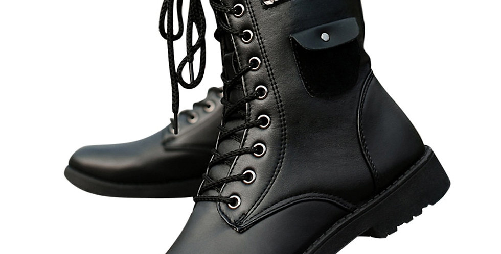 Men's Boots Fashion Waterproof High Boots