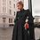 Thumbnail: Polka Dot Black Elegant Dress