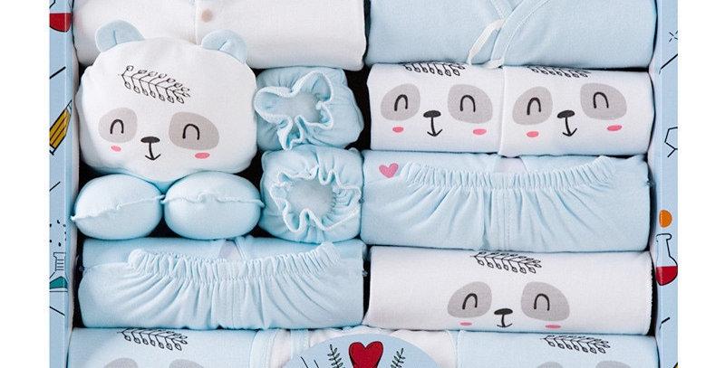 Newborn 100% Cotton 18 Piece