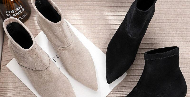 Elegant Thin High Heels Women Boots