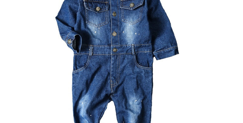 Jeans Boys Overalls 2-5T