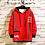 Thumbnail: Casual O-Neck Print Hoodie Sweatshirt Men'S Thick
