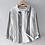 Thumbnail: Striped Casual Long Sleeve Shirt Men Linen