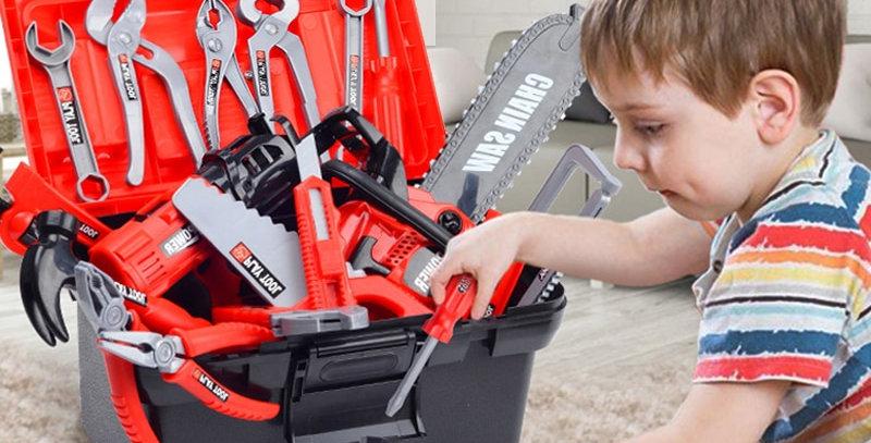 Kids Toolbox Kit Educational Toys Simulation Repair