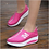 Thumbnail: Women Breathable Slim Wedges Sneakers Non Slip Shoes