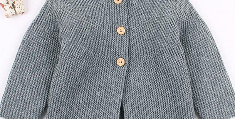 Sweater Cardigans Long Sleeve 6-24M