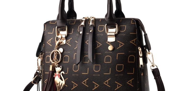 Vintage PU Leather Ladies HandBags Women Messenger Bags