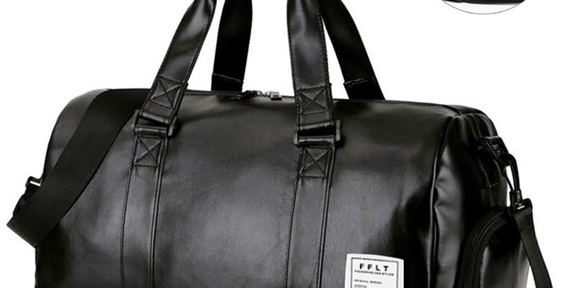 Gym Bag Leather Sports Bags Dry Wet Bags Men