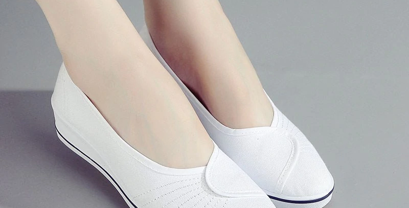 Female Canvas Shoes