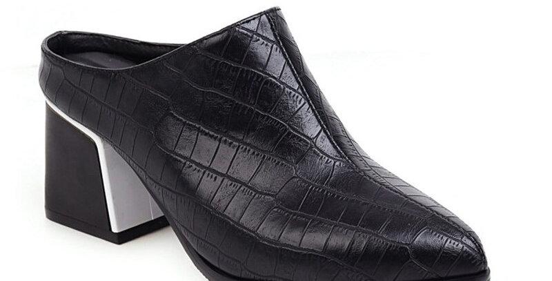 Pu Leather Flip Flops Non-Slip