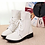 Thumbnail: Cow Genuine Leather Women Ankle Boots