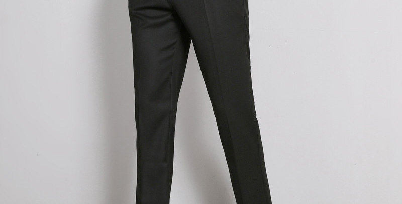Classic Men Business Pants Dress Slim Fit