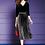 Thumbnail: Elegant Beading Velvet Dress Plus Size