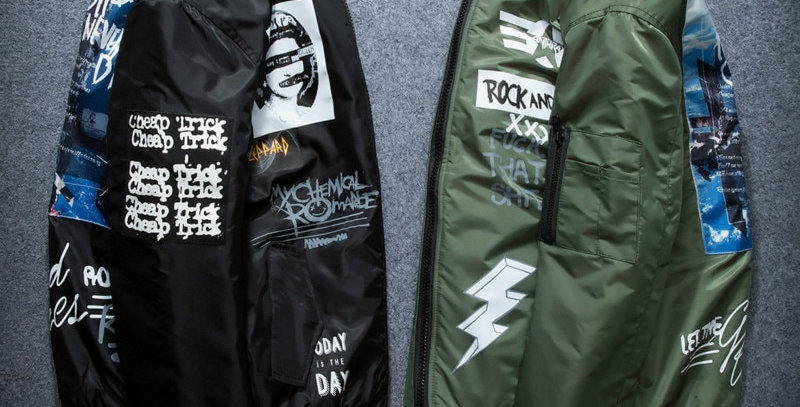 Jackets Thick Youth Punk Hip Hop