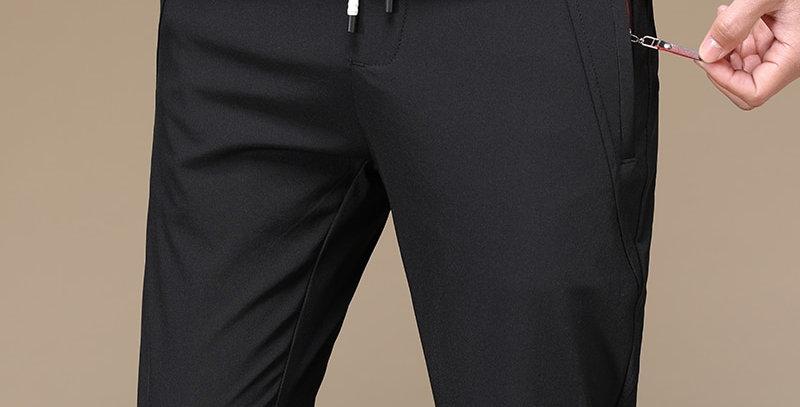 Men's Straight Pants Breathable  Men Wear Comfortable Anti-Wrinkle