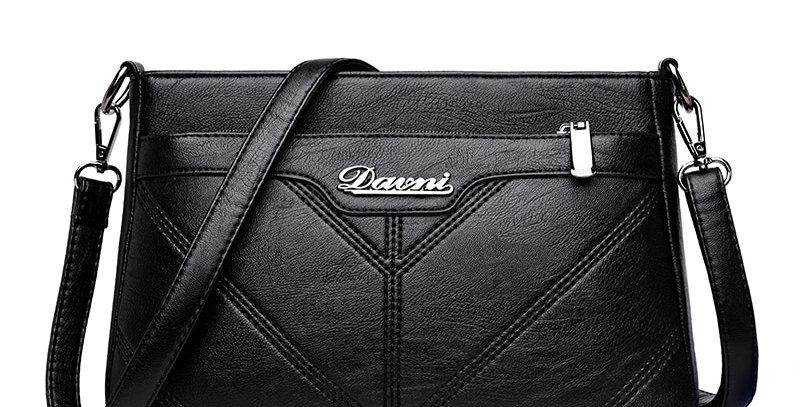 Shoulder Bag Designer PU Leather Women Messenger