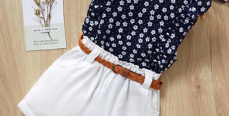 T-Shirt + Pants Girls Sets 3-7T