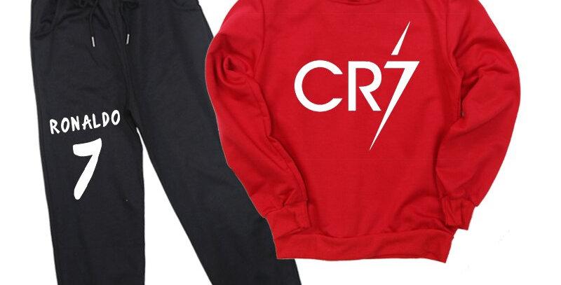 Cotton Sweatshirt+Trousers 2-14T