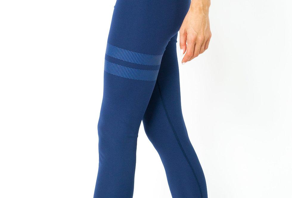 Ashton Leggings - Navy Blue