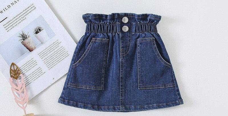 Jeans Short Skirt 12M-4T