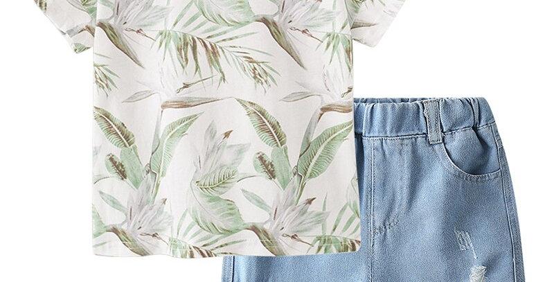 T-Shirt+Shorts 2-7T