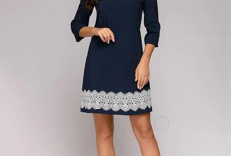 Lace Patchwork Women Dress