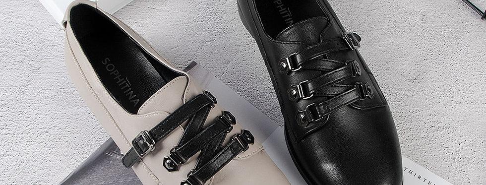 Genuine Leather Shoes Woman Handmade