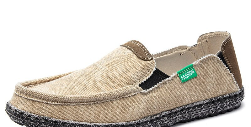 Men Canvas Shoes Loafers