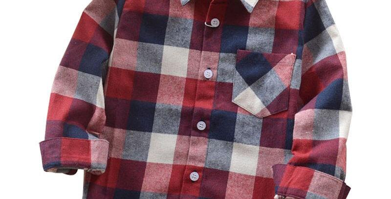 Cotton Children Shirt 2-12T