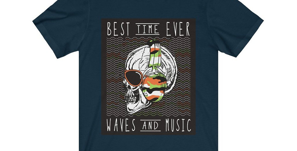 Best Time Ever Waves and Music in Skull Head