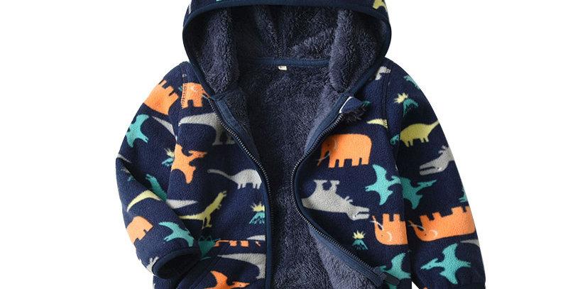 Fleece Hoodies Winter 24M-6