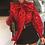 Thumbnail: Ruched Women's Blouses Bow Collar Lantern Long Sleeve