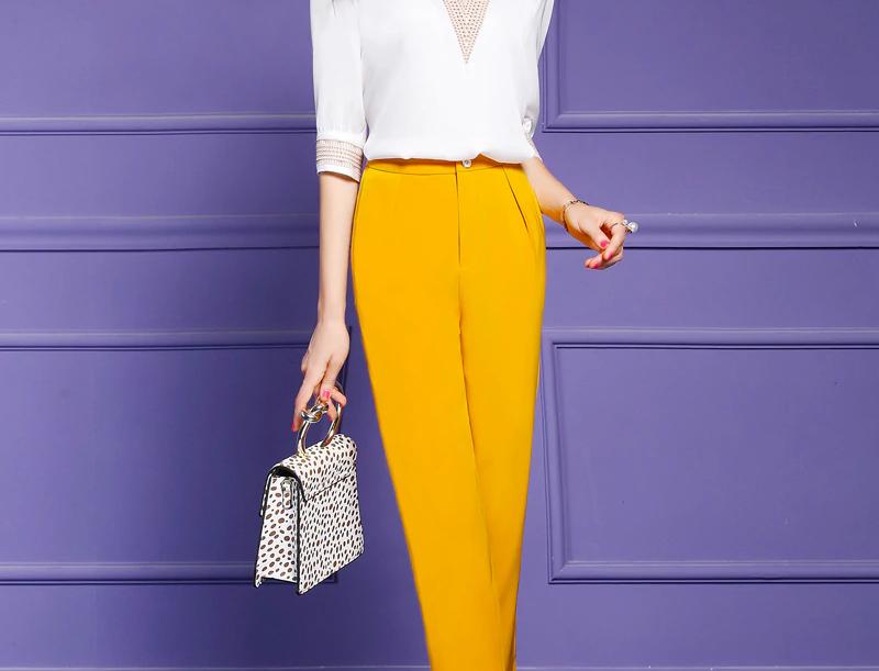 Elegant Embroidery Blouse Shirt