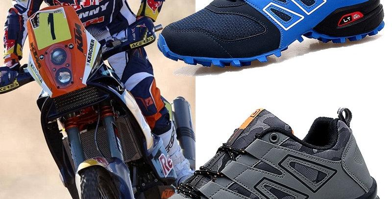 Men Bicycle Shoes Anti-Slip Breathable Shoes Men Non-Locking