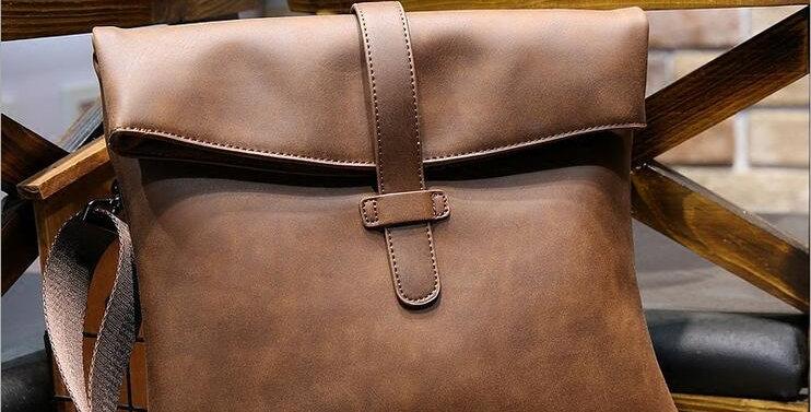 Leathe Ipad Bagsr Men's Briefcase Men's Messenger Bag