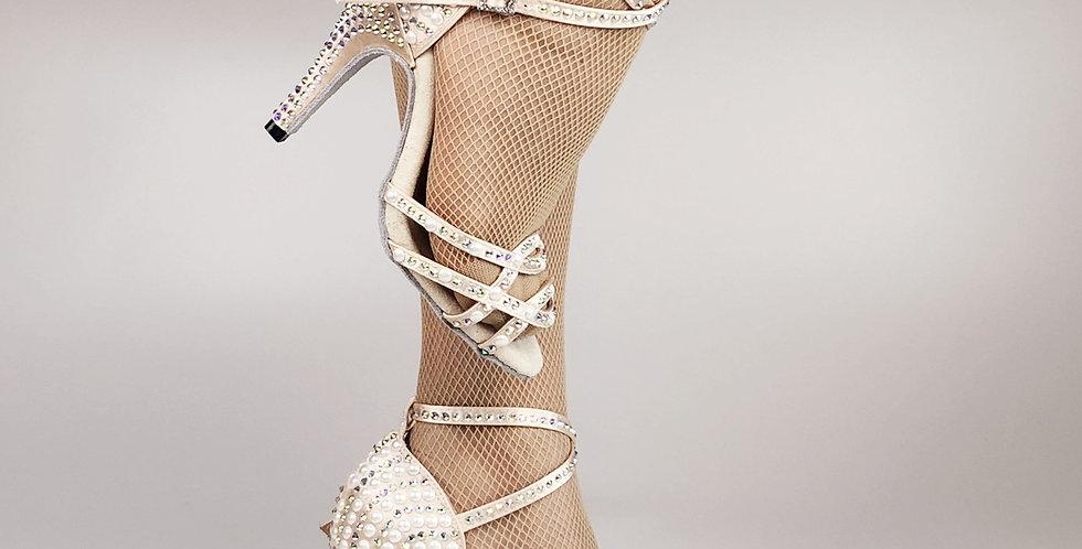 Fashion Ballroom Latin Tango Soft Sole High Heels