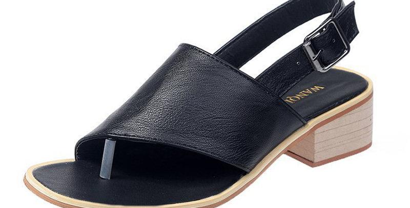 Gladiator Sandals Low Heel for Women