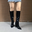 Thumbnail: Faux Leather Women Knee High Boots